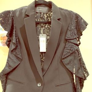 BCBG Black Lace Blazer brand new